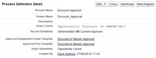 Avoid rounded discount steps in approval processes.